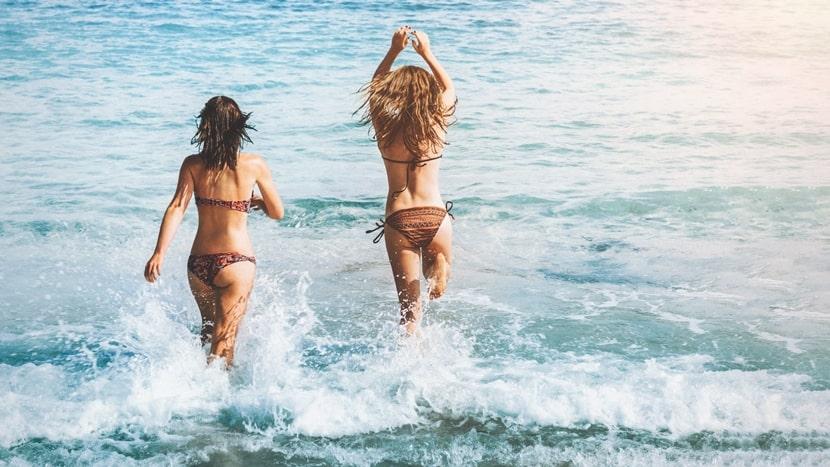 înot în aer liber
